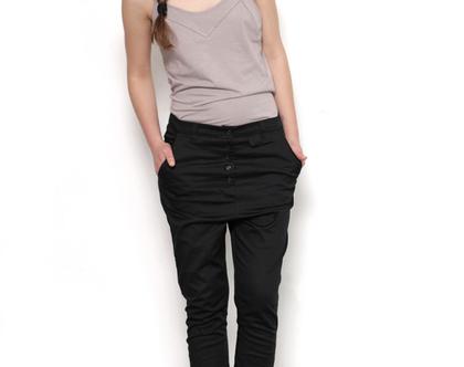 מכנס מלבן, מכנסיים שחורים, מכנס אפור, מכנסיים לאישה