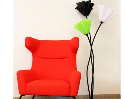 מנורת פרח שלושה קנים