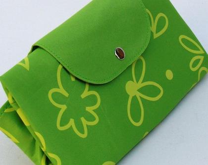 תיק מתקפל מולטי-ירוק