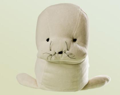 בובה אורגנית - כלב ים