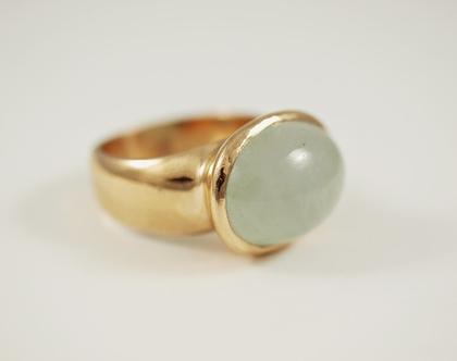 טבעת זהב אדום   טבעת משובצת אבן אקווה מרין   טבעת בעיצוב אישי   טבעות אירוסין   טבעות מעוצבות   תכשיטים ברעננה   אורה דן תכשיטים  