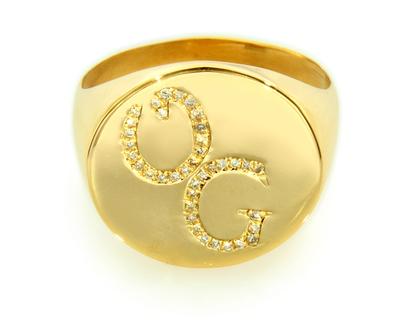טבעת שם , טבעת חותם שם