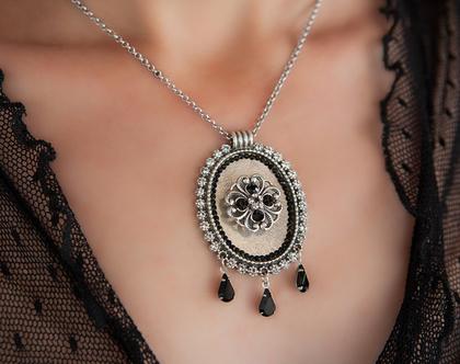מתנה לאשה ליום הולדת, שרשרת עם תליון כסף, תכשיטים מיוחדים לאישה