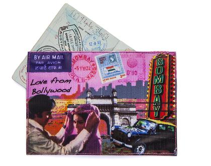 כיסוי לדרכון,כיסוי פספורט צבעוני-כיסוי דרכון מעוצב-עיצוב אתני