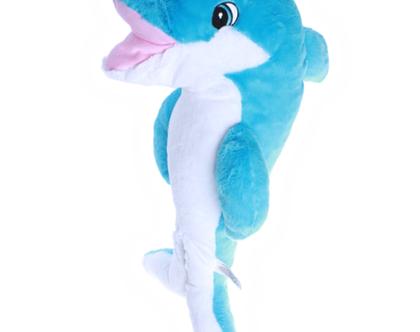 """בובת פרווה פליפי הדולפין 40 ס""""מ"""