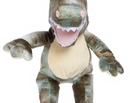 """בובת פרווה דינו הדינוזאור 40 ס""""מ"""
