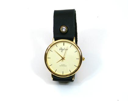 שעון קלאסי שחור