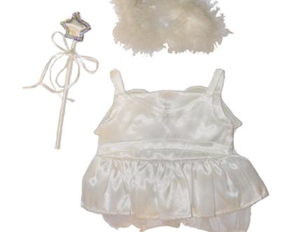 """בגדי בובה חליפת פיה מלאכית לבובה 40 ס""""מ"""