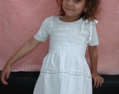שמלת כותנה לילדות