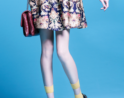 גרביים מיוחדים לנשים -גרביים עם חלון - בואי לגרוב אמנות