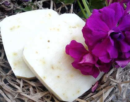סבון טבעי קלאסי- גרניום - קלנדולה.