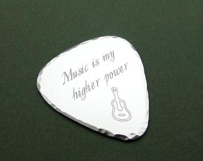 מפרט גיטרה עם חריטה / מפרט אישי מתנה לגיטריסט / מתנה למוסיקאי / מתנות למוסיקאים / מתנה לבן זוג