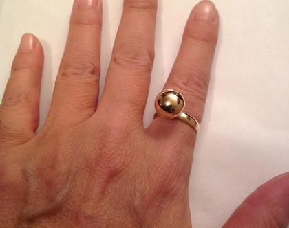 טבעת כדור גולדפילד - טבעת גולדפילד - טבעת לאישה