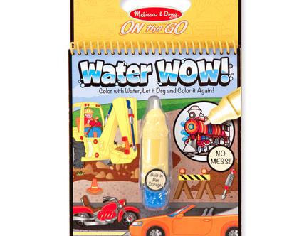 חוברת טוש מים – כלי רכב