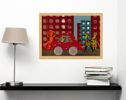 תמונה לקיר או למטבח - 60X80
