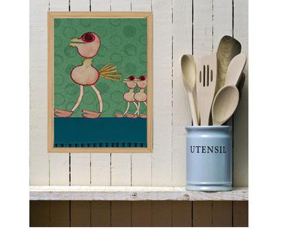 תמונה לקיר או למטבח - A3
