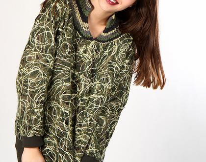 סוודר צמר Forest
