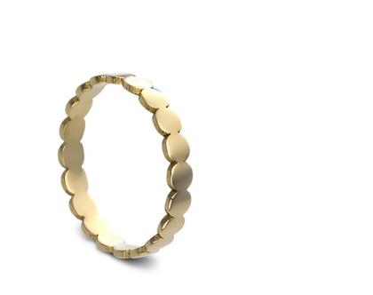 טבעת נישואין , טבעות זהב