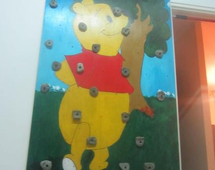 קיר טיפוס ביתי לילדים
