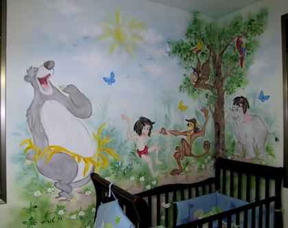 ציור קיר ספר הג'וינגל