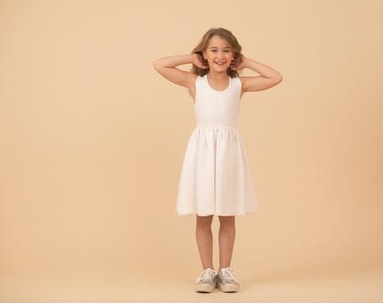 שמלה חגיגית לילדה,שמלת ולרי פליסה