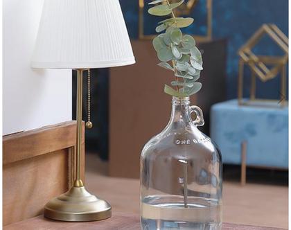 בקבוק/אגרטל זכוכית בסגנון רטרו
