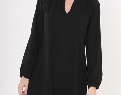 שמלת קיילי שחור