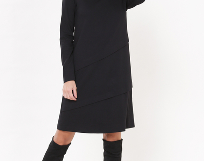 שמלת היילי שחורה