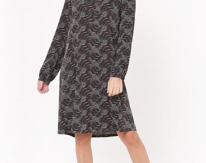 שמלת קיילי מודפסת