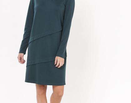 שמלת היילי ירוק
