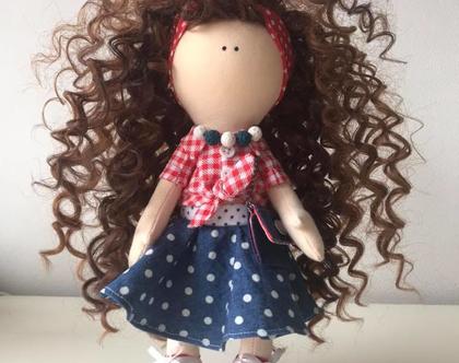 """בובה בעבודת יד לאספנים, למתנה, לילדות - Pin-up doll """"Vivian"""""""