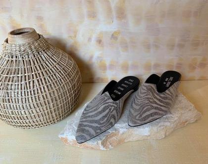 נעליים שטוחות מעוצבות, נעליים מיוחדות, נעלי כפכף, נעלי עור מעוצבות, נעליים עם שיק