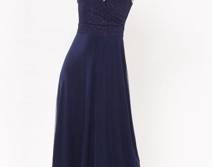 שמלת נינט כחול