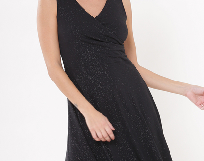 שמלת אנה שחור