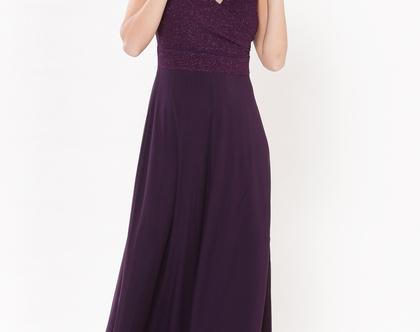 שמלת נינט סגול