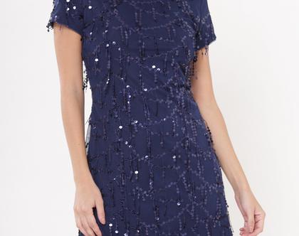 שמלת דונה כחול