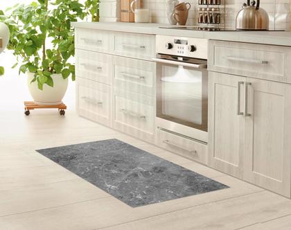 שטיח פי וי סי מעוצב שיש אפור   שטיח פי.וי.סי PVC   שטיח לבית   שטיח למטבח   שטיח לחדר