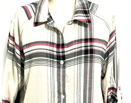 DKNY-Donna Karan | חולצה/כותונת פלנל דונה קארן
