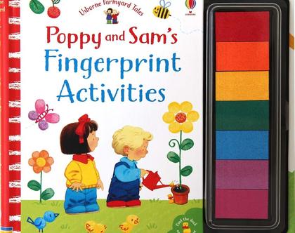 יצירה בטביעות אצבעות-פופי וסאם
