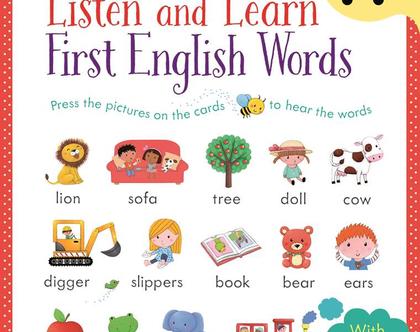 ספר צלילים אנגלית-מילים ראשונות