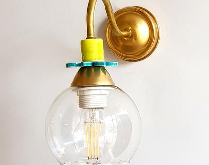 צמוד קיר - מנורה לחדר שינה - מנורה ליד המיטה - מנורה למסדרון - מנורת קריאה - גוף תאורה לקיר - גוף תאורה לחדר שינה