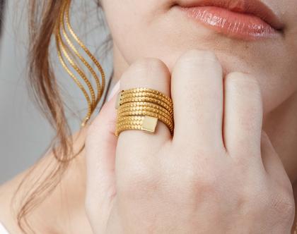 טבעת מצמח הזהב, עבודת יד ייחודית