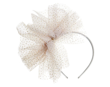 Tutu bow alice - grey