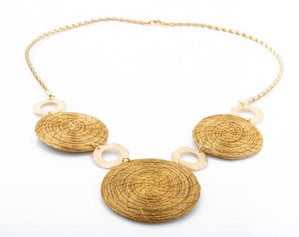 שרשרת שאיה, שרשרת מיוחדת ומרשימה מצמח הזהב