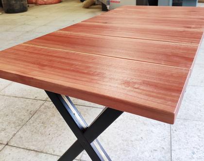 שולחן סלון מעוצב אקליפטוס