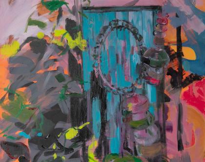 """""""דלת המסתורין"""" של האמנית גנית פורטוגלי"""