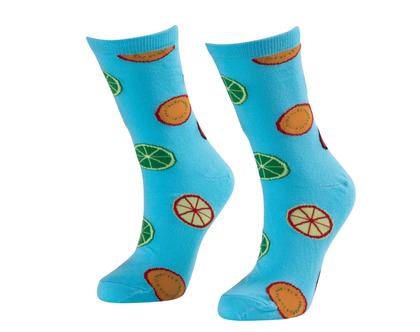 זוג גרביים בדיגום לימונים