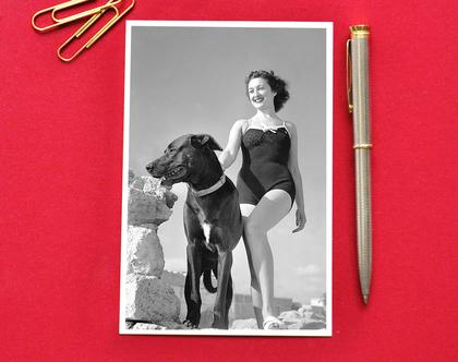 """גלויה: אפנת """"אלד"""", תל אביב, 1946"""