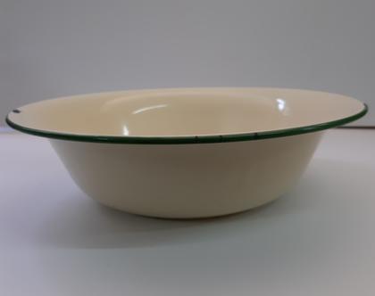 קערת אמאייל:אמאיל למטבח:כלי אמאיל וינטאג:כלי מטבח וינטאב