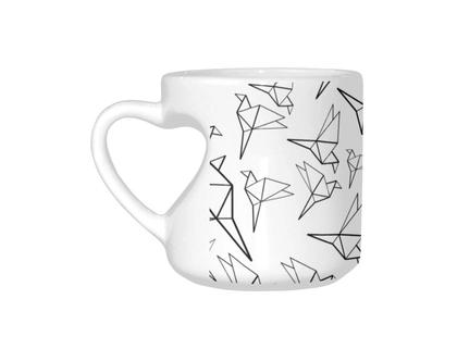 Heart-Shaped Mug
